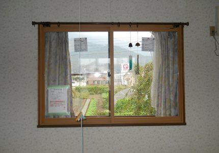 バルコニーと内窓設置
