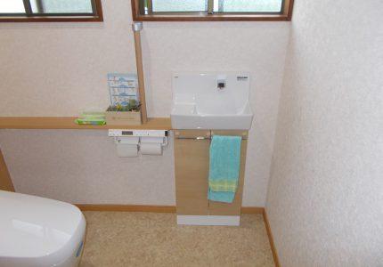 明るくきれいなトイレに!