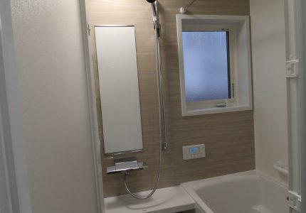 まるで新築のよう!あたたかなお風呂に生まれ変わりました!