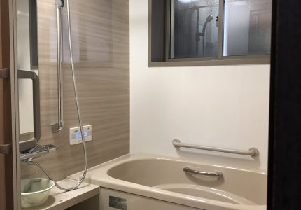 ピッタリサイズのお風呂でスペースを無駄なく有効活用!