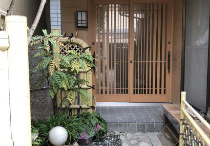 玄関で、家の印象大変身!!