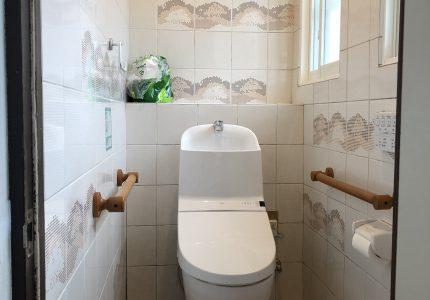 トイレがホッとできる空間に!!