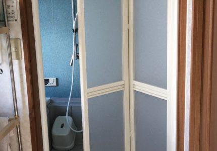 浴室折戸のみのリフォーム可能です♨