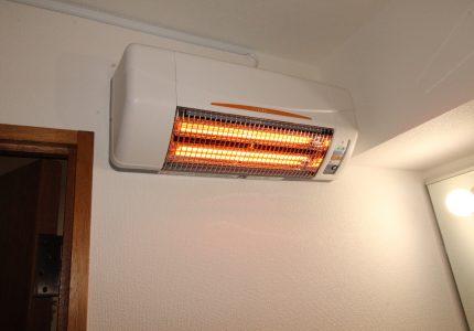 あると安心、涼風暖房機👌
