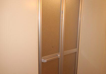 浴室折戸の軽さに感動👏