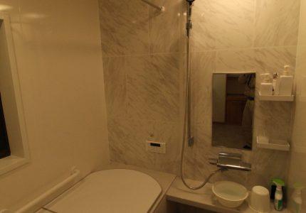 一日の疲れを癒す浴室🛀
