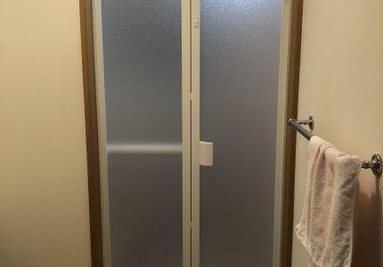 新しくなった浴室折戸⭐
