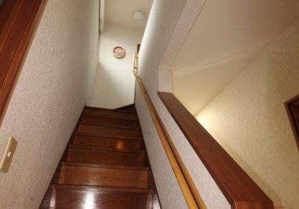 あると安心、階段手すり🙆
