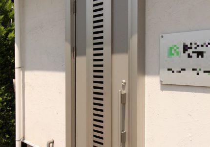 通風ドアで効果的な換気が可能👍