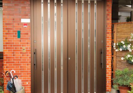 安全で使いやすい玄関引戸🎶