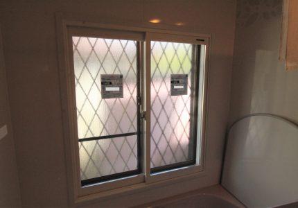 内窓設置でより暖かい浴室に❗