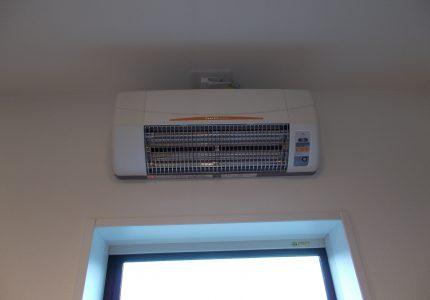 夏も冬も涼風暖房機で快適に☘