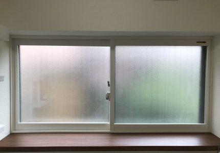 内窓で脱衣場の印象が一新🆕