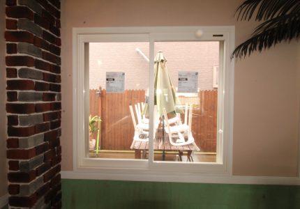 FIX窓から開閉できる窓へ🎵
