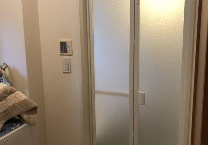 毎日使う浴室折戸をお手軽リフォーム🛀