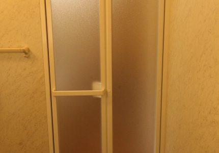 新しくなった浴室折戸で開閉もスムーズ🙂