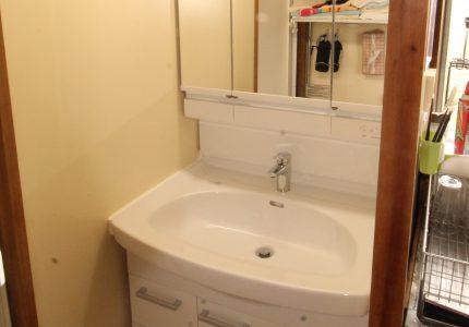 シンプルで使いやすい洗面化粧台💄