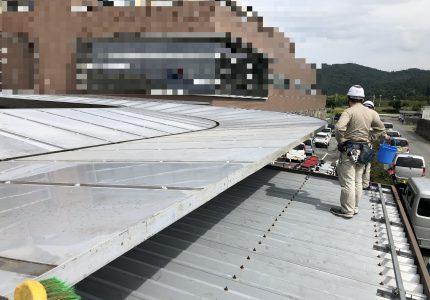アーケード屋根を復旧しました❕
