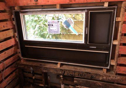断熱性の高い浴室窓へ❣
