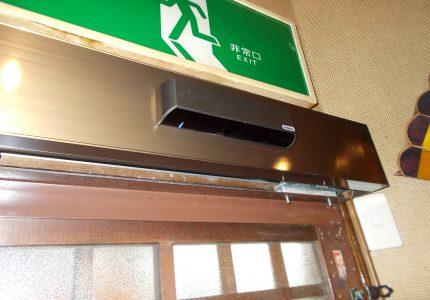 手動ドアが快適、自動ドアへ🚪