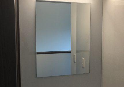 鏡の設置もお任せください☘