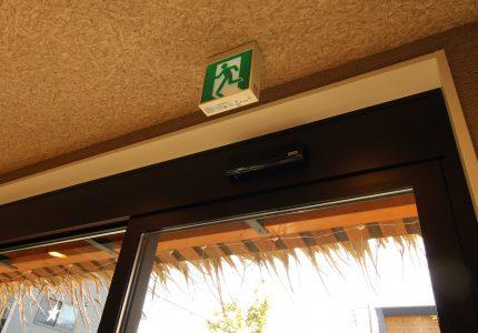 ウイルス感染予防対策で自動ドアに変えました❕