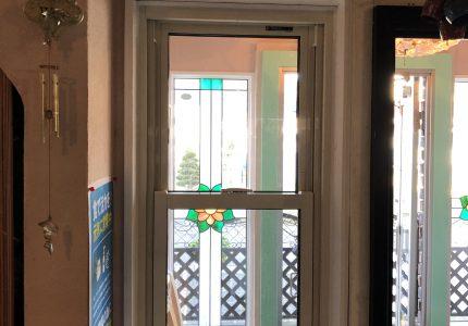 感染症予防対策で換気出来る窓へ❗