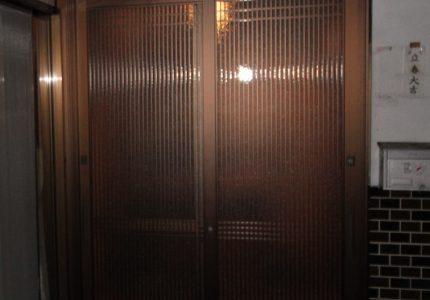 玄関引戸を新しくしました🆕