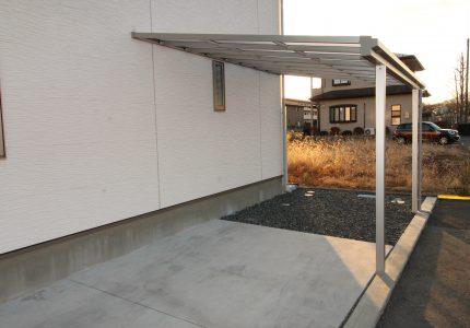 テラス屋根がカーポートに🚘