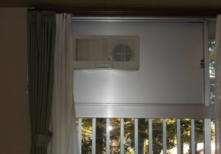 冷暖房効果そのままに換気ができます✌