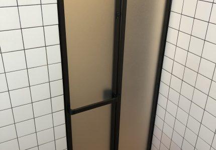 浴室折戸を交換しました🆕