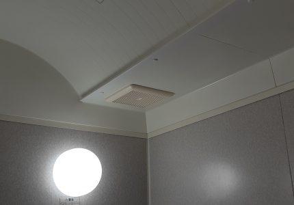 浴室は換気扇が重要です☝