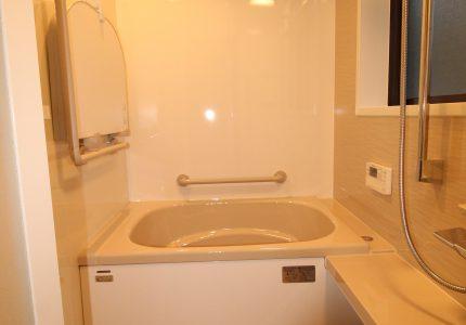ポカポカ温かい快適な浴室🛁