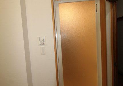 脱衣室が明るくキレイに✨