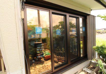 木製窓からアルミ樹脂複合窓へ🎶