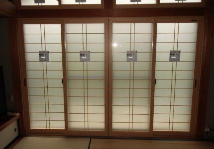 内窓で障子紙の貼り替えも不要に☘