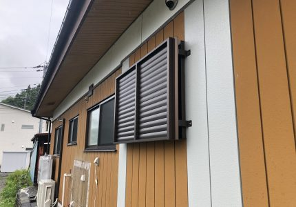 多機能ルーバーで快適な窓に🏳🌈