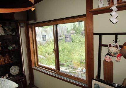 木製窓から断熱性・防犯性の高い窓へ💫