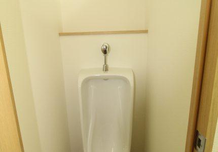 トイレに間仕切を作りました🚻