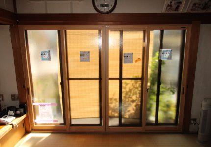 内窓が寒さ暑さ対策に繋がります😊