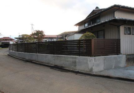 フェンス設置で住まいに安心と安全をプラス➕