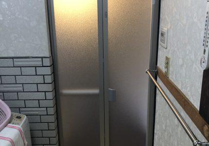 浴室折戸を短時間でリフレッシュ✨